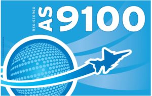 AS9100 Certification label