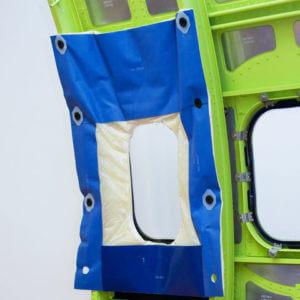 flexible acoustic barrier (11)