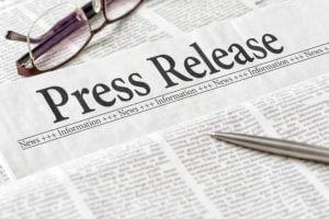 Press Release Newspaper image